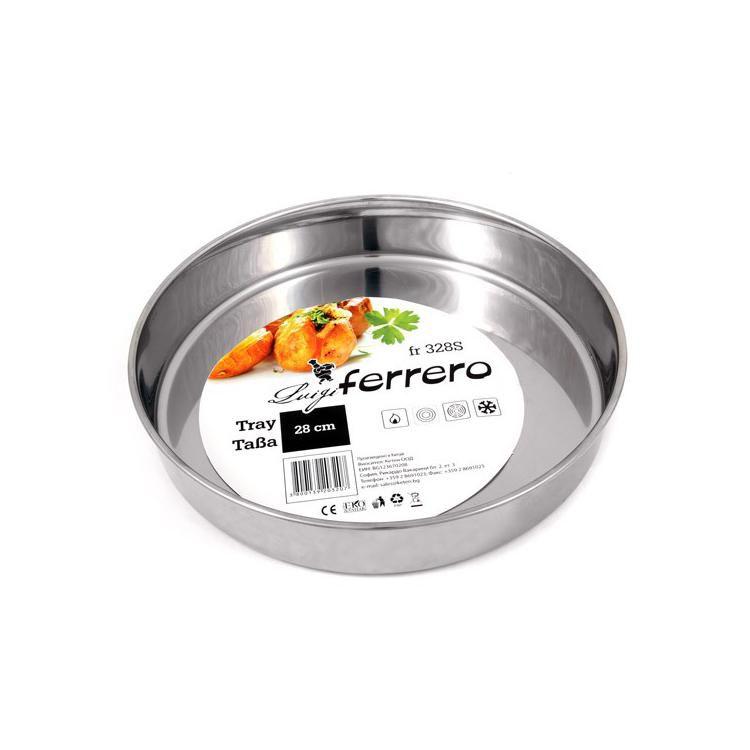 Тава инокс Luigi Ferrero ф 28 см Luigi Ferrero