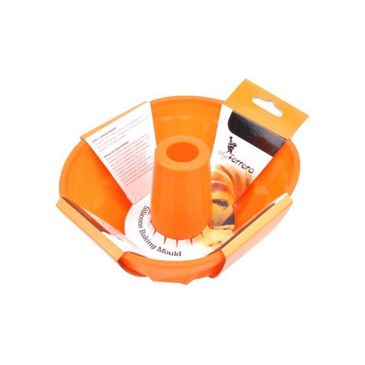 Силиконова форма за печене Luigi Ferrero - FR-1022 S - оранж Luigi
