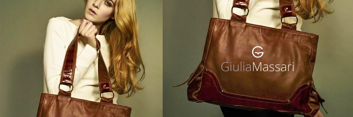 759c7a4c0fd Италиански чанти от естествена кожа Giulia Massari / Кафяв - Trendo.bg |  Трендо БГ АД
